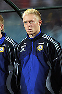 02.09.2006, Zawisza Stadium, Bydgoszcz, Poland.<br />EM 2008 karsintaottelu Puola - Suomi / UEFA European Championship 2008 Qualifying match, Poland v Finland.<br />Mikael Forssell - Finland<br />©Juha Tamminen<br /><br /><br />..ARK:k
