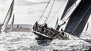 FRANCE, St Tropez. 5th October 2013. Voiles de St Tropez. Lionheart (H1).