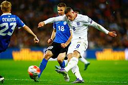 Ross Barkley of England shoots - Mandatory byline: Jason Brown/JMP - 07966 386802 - 09/10/2015- FOOTBALL - Wembley Stadium - London, England - England v Estonia - Euro 2016 Qualifying - Group E