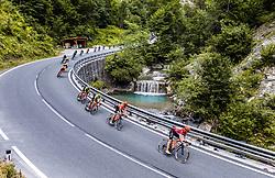 10.07.2019, Fuscher Törl, AUT, Ö-Tour, Österreich Radrundfahrt, 4. Etappe, von Radstadt nach Fuscher Törl (103,5 km), im Bild Jonas Koch (CCC Team, GER) im Peloton // Jonas Koch (CCC Team, GER) im Peloton during 4th stage from Radstadt to Fuscher Törl (103,5 km) of the 2019 Tour of Austria. Fuscher Törl, Austria on 2019/07/10. EXPA Pictures © 2019, PhotoCredit: EXPA/ JFK
