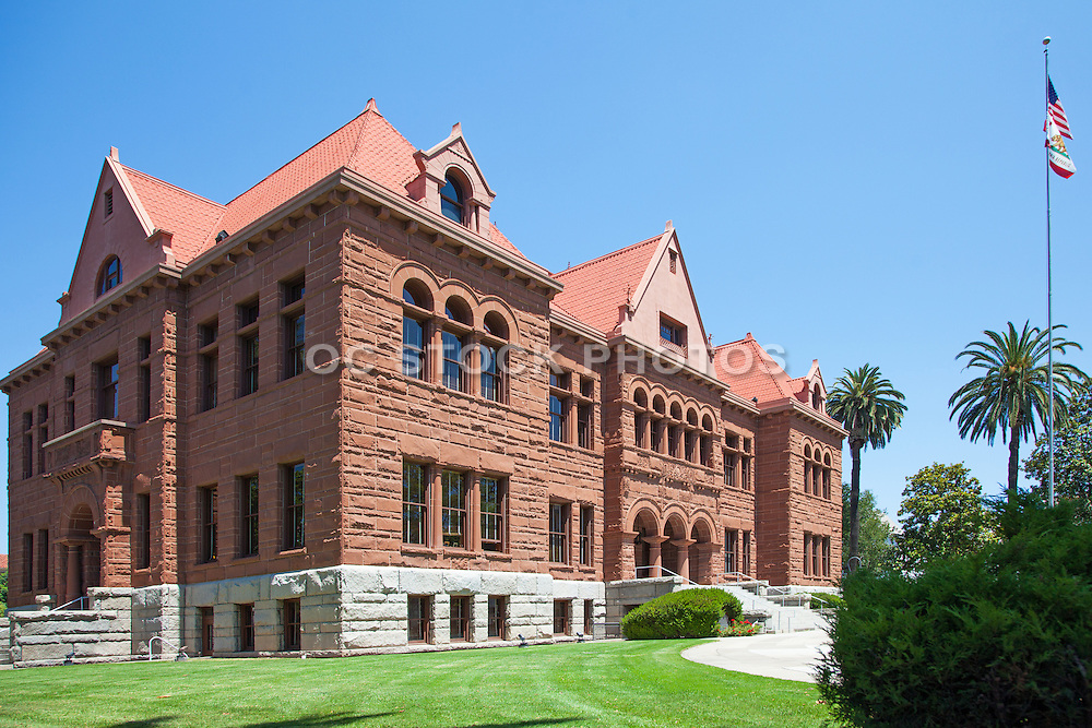 Santa Ana Old Orange County Courthouse