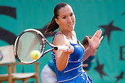 Paris, France. June 1st 2009. .Roland Garros - Tennis French Open..Jelena Jankovic against Sorana Cirstea