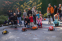 Annual Halloween Pumpkin Race, Bellevue