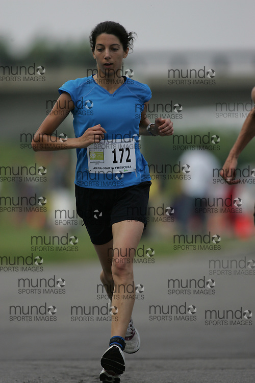 (Ottawa, Canada---19 June 2010) Anna-Maria Frescura competing in the 2010 edition of Emilie's Run - The Emilie Mondor Memorial 5K Race for Women. Photograph copyright Sean Burges / Mundo Sport Images, 2010.