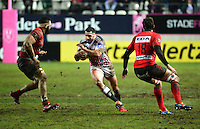 Geoffrey DOUMAYROU - 31.01.2015 - Stade Francais / Oyonnax - 17eme journee de Top 14<br />Photo : Dave Winter / Icon Sport