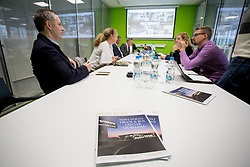 Press conference of Volvo Truck and Bus Slovenia, on January 26, 2018 in Ljubljana, Slovenia. Photo by Urban Urbanc / Sportida