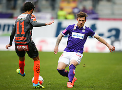 19.03.2016, Generali Arena, Wien, AUT, 1. FBL, FK Austria Wien vs RZ Pellets WAC, 28. Runde, im Bild Jacobo Maria Ynclan Pajares (RZ Pellets WAC) und Christoph Martschinko (FK Austria Wien) // during Austrian Football Bundesliga Match, 28th Round, between FK Austria Vienna and RZ Pellets WAC at the Generali Arena, Vienna, Austria on 2016/03/19. EXPA Pictures © 2016, PhotoCredit: EXPA/ Thomas Haumer