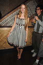 Model MORWENNA LYTTON COBBOLD at a party to celebrate the launch of Independent (Formerly ICM) held at Mahiki, 1 Dover Street, London W1 on 17th September 2007.<br /><br />NON EXCLUSIVE - WORLD RIGHTS
