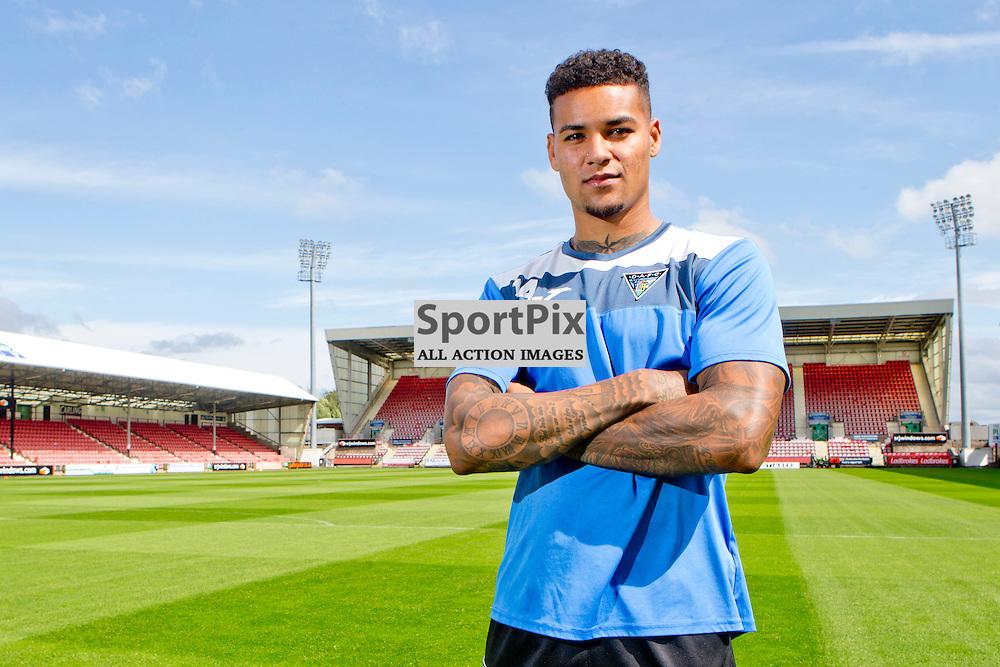 DAFC Presser East End Park 20 August 2015<br /> Ben Richards-Everton<br /> (c) CRAIG BROWN | SportPix.org.uk