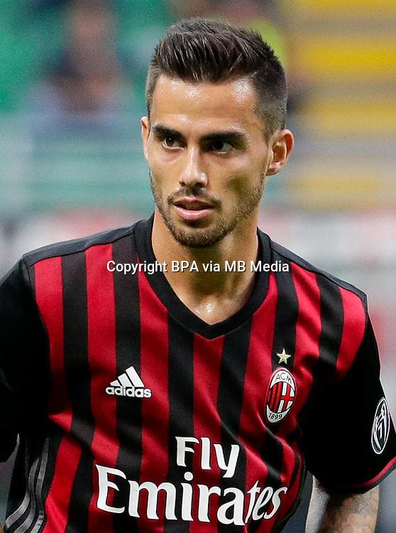 Italian League Serie A -2016-2017 / <br /> ( AC Milan  ) - <br /> Jesus Joaquin Fernandez Saez de la Torre &quot; Suso &quot;