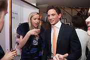 MATT MANSON; NOELLE RENO, Maison Triumph launch to celebrate the beginning of London fashion week. Monmouth St. 14 February 2013.