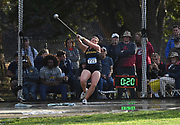 Rebecca Keating (721) of Missouri throws in the women's hammer during the NCAA West Track & Field Preliminary, Thursday, May23, 2019, in Sacramento, Calif.