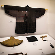 "TOKYO, JAPAN - JULY 2 : A ninja wear on display during a ninja exhibition that kicks off Saturday at Miraikan in Tokyo, Japan on July 2, 2016. A special exhibition entitled ""The Ninja- who were they?"" will be open from July 2 (Saturday), 2016 to October 10 (Monday) 2016 at the Miraikan (National Museum of Emerging Science and Innovation). Photo: Richard Atrero de Guzman"