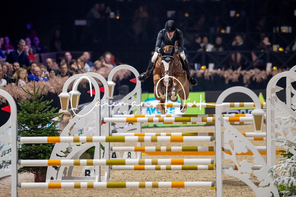 Smolders Harrie, NED, Nixon Van't Meulenhof<br /> Jumping Mechelen 2019<br /> © Hippo Foto - Dirk Caremans<br />  27/12/2019