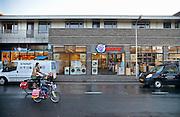 Nederland, Neede, 30-1-2013Straatbeeld in het centrum van dit dorp in de achterhoek. Vestiging van Electroworld aan de Borculoseweg. Winkelstraat. De winkels in deze plaats hebben last van de krimpende bevolking en de slechte economische situatie van dit moment.Foto: Flip Franssen