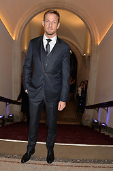JENSON BUTTON at a private view of photographs by David Bailey entitled 'Bailey's Stardust' at the National Portrait Gallery, St.Martin's Place, London on 3rd February 2014.