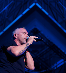 Italian singer Eros Ramazzotti in concert at Palace of Sports in Madrid with his show NOITOUR Madrid, Spain, Saturday, 21st September 2013. Picture by Belen Diaz / DyD Fotografos / i-Images<br /> SPAIN OUT