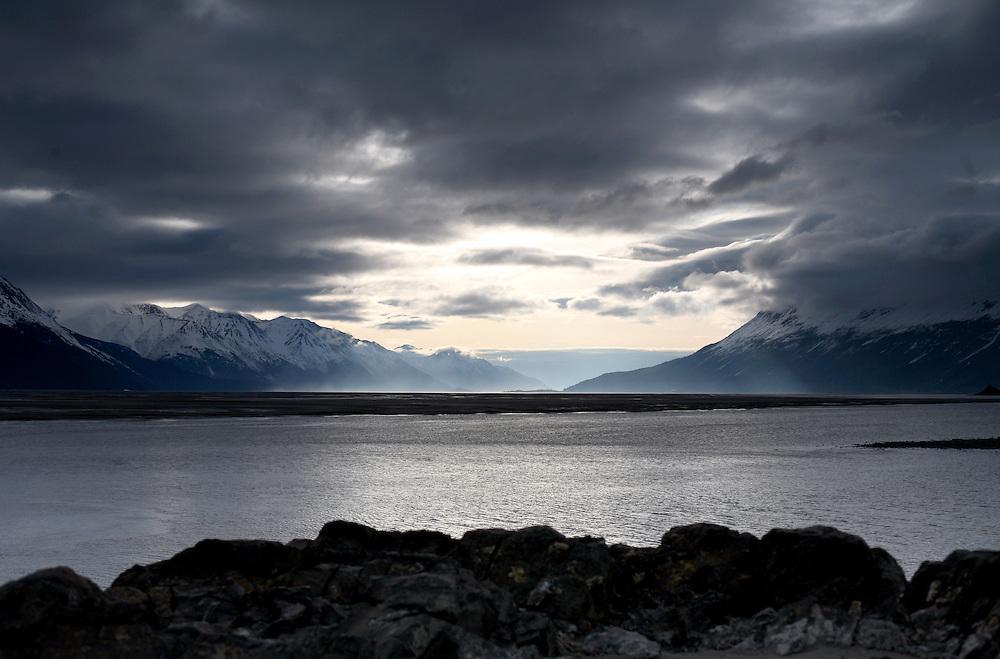 Turnagain Arm, Alaska. 2009