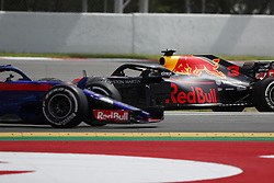 May 13, 2018 - Barcelona, Catalonia, Spain - May 13th, 2018 - Circuit de Barcelona-Catalunya, Montmelo, Spain - Race of Formula One Spanish GP 2018; Daniel Ricciardo of RedBull Racing out of the tarmac during the Spanish GP. (Credit Image: © Eric Alonso via ZUMA Wire)
