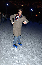 TV presenters GILES VICKERS-JONES at the opening of the Natural History Museum's Ice Rink on 16th November 2005.<br /><br />NON EXCLUSIVE - WORLD RIGHTS