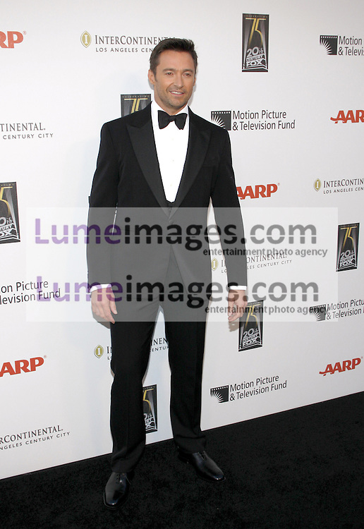 CENTURY CITY, CA - MAY 01, 2010: Hugh Jackman at the 5th Annual 'A Fine Romance' Benefit held at the Fox Studio Lot in Century City, USA on May 1, 2010.