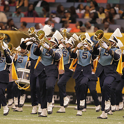 2008 November, 29: The Southern University band performs during halftime of the 35th annual State Farm Bayou Classic at the Louisiana Superdome in New Orleans, LA.  .