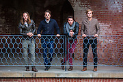 A portrait session with the Brown Shoe Band in San Francisco,CA.
