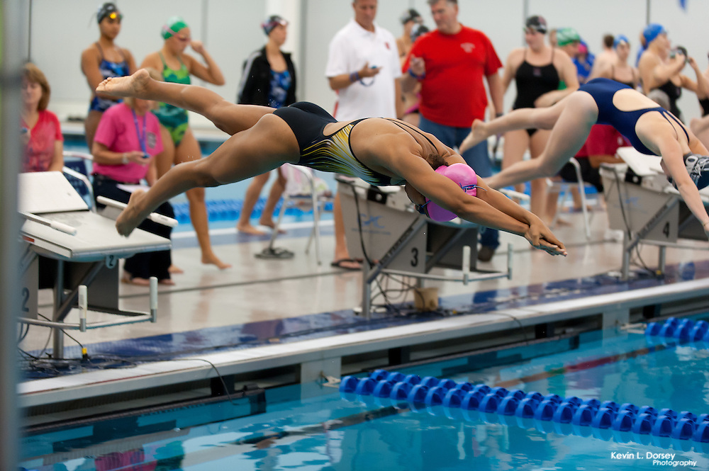2014-15 A&T Swimming at All-NC Invitational