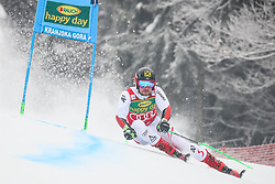 Marcel Hirscher of Austria competes during 1st run of Men's GiantSlalom race of FIS Alpine Ski World Cup 57th Vitranc Cup 2018, on March 3, 2018 in Kranjska Gora, Slovenia. Photo by Ziga Zupan / Sportida