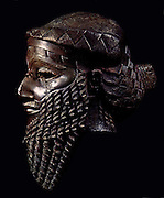 Sargon of Akkad (2334 BC - 2279 BC), also known as Sargon the Great or Sargon I, Mesopotamian king. Bust of an Akkadian ruler, probably Sargon, Nineveh, ca. 23rd - 22nd century BC