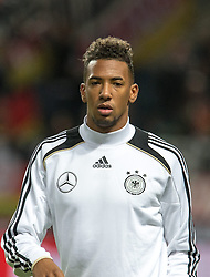 15.10.2013, Friends Arena, Stockholm, SWE, FIFA WM Qualifikation, Schweden vs Deutschland, Gruppe C, im Bild Germany 20 Jerome Jerome Boateng, , , Nyckelord , Keywords : football , fotboll , soccer , FIFA , World Cup , Qualification , Sweden , Sverige , Schweden , Germany , Tyskland , Deutschland portr&copy;tt portrait // during the FIFA World Cup Qualifier Group C Match between Sweden and Germany at the Friends Arena, Stockholm, Sweden on 2013/10/15. EXPA Pictures &copy; 2013, PhotoCredit: EXPA/ PicAgency Skycam/ Ted Malm<br /> <br /> ***** ATTENTION - OUT OF SWE *****