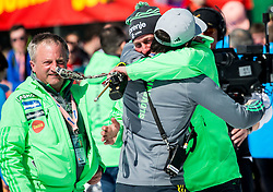 Jani Grilc, Goran Janus and Urban Jarc celebrate after Ski Flying Hill Individual Competition at Day 4 of FIS Ski Jumping World Cup Final 2016, on March 20, 2016 in Planica, Slovenia. Photo by Vid Ponikvar / Sportida
