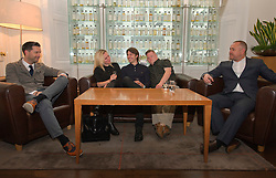 Pictured: Writer Duncan Paveling, Director Jane Gull, Will Rastall, Stephen Brandon and producer James Rumsey<br /> <br /> Some of the cast and those behind the scenes of My Feral Heart gathered in the Scotch Whisky Society in Edinburgh to relax ahead of the UK Premier of their film at the Edinburgh International Film Festival. Directed by Jane Gull, My Feral Heart stars Stephen Brandon in his debut as Luke, Will Rastall, Shana Swash, Eileen Polliock, Suzanna Hamilton and Pixie Le Knot.<br /> <br /> When Luke, an independent and sensitive young man with Down&rsquo;s syndrome is forced to live in a care home after his elderly mother dies, he struggles to settle. Frustrated by having his wings clipped by unfamiliar rules; totally unimpressed by his new housemates and grieving for his Mum - his disappointment soon turns to wonder when Luke discovers a way out and begins to explore the surrounding countryside. When he is caught sneaking out by Pete, a troubled youth who tends the gardens at the Home, they strike up an unlikely rapport: Pete covers for Luke when he sneaks out and in return Luke helps Pete clear the garden. On an illicit excursion to the adjoining field Luke discovers a young injured girl in desperate need of his help.<br /> <br /> <br /> Ger Harley | EEm 17 June  2016
