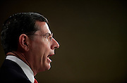 """Feb 1, 2011 - Washington, District of Columbia, U.S. - Senator JOHN BARRASSO (R-WY) during a news conference on legislation to repeal and replace the health care law by allowing states to """"Opt-Out"""" of its major provisions.(Credit Image: © Pete Marovich/ZUMA Press)"""