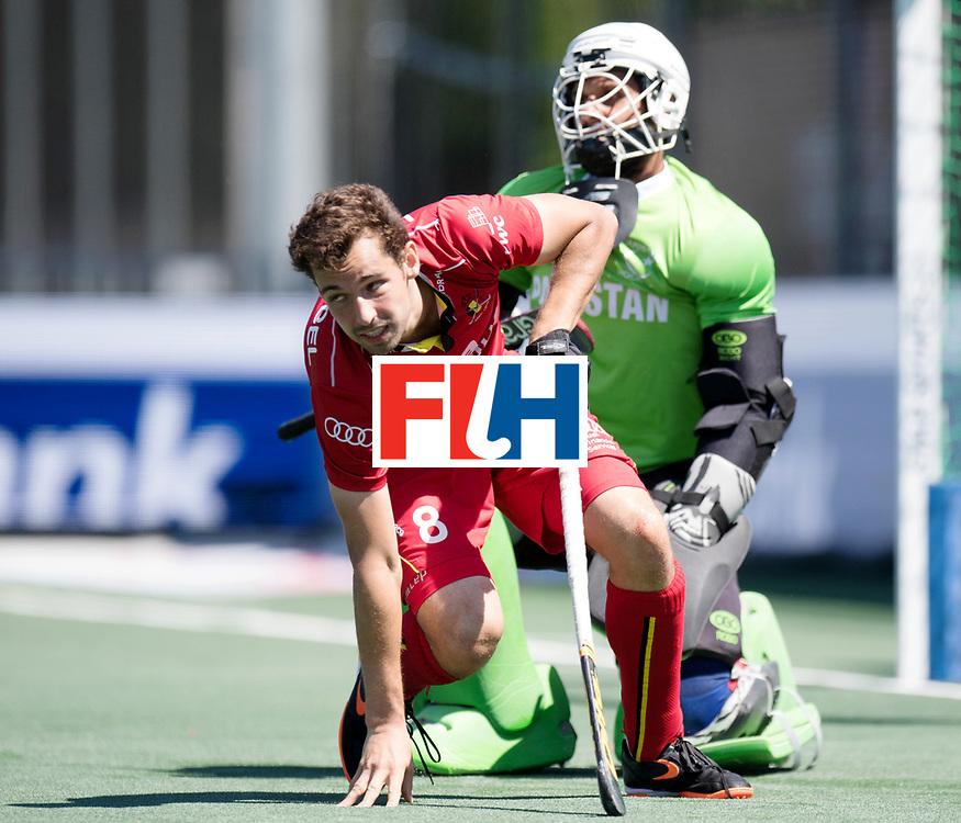 BREDA - Rabobank Hockey Champions Trophy<br /> 5th/6th place Belgium - Pakistan<br /> Photo: Florent van Aubel.<br /> COPYRIGHT WORLDSPORTPICS FRANK UIJLENBROEK