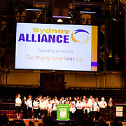 Sydney Alliance Founding Assembly // 20110915