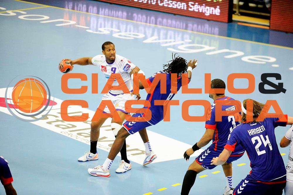 DESCRIZIONE : Handball Tournoi de Cesson Homme<br /> GIOCATORE : BEAUREGARD Fredderic<br /> SQUADRA : Selestat<br /> EVENTO : Tournoi de cesson<br /> GARA : Paris Handball Selestat<br /> DATA : 06 09 2012<br /> CATEGORIA : Handball Homme<br /> SPORT : Handball<br /> AUTORE : JF Molliere <br /> Galleria : France Hand 2012-2013 Action<br /> Fotonotizia : Tournoi de Cesson Homme<br /> Predefinita :