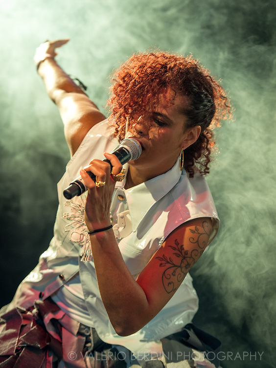 Neneh Cherry during her set at Field Day London on 7 June 2014