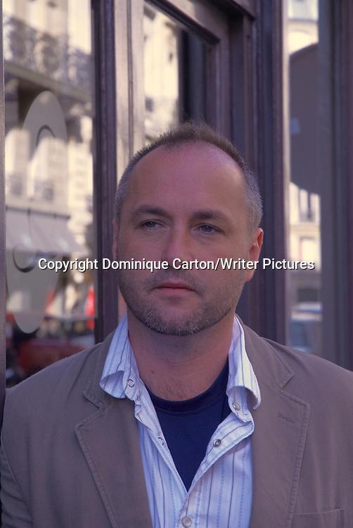 Colum McCann<br /> <br /> copyright Dominique Carton/Writer Pictures<br /> contact +44 (0)20 822 41564 <br /> info@writerpictures.com <br /> www.writerpictures.com