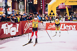 17.01.2020, Hauptplatz, Lienz, AUT, Dolomitenlauf, Dolomitensprint, im Bild Madeleine Veiter (AUT) // during the Dolomitenlauf Dolomitensprint at the main square, Lienz, Austria on 2020/01/17, EXPA Pictures © 2020 PhotoCredit: EXPA/ Dominik Angerer