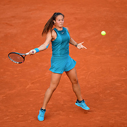 Daria Kasatkina of Russia during Day 8 of the French Open 2018 on June 3, 2018 in Paris, France. (Photo by Dave Winter/Icon Sport)