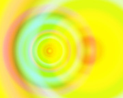 The Golden Age is NOW #5 ~ <br /> Created on the Summer Solstice 2015. This series reveals a time travel portal that can be used by the viewer in meditation or mystical visionary journey to bring forth the presence of the Golden Age. ~ © Laurel Smith