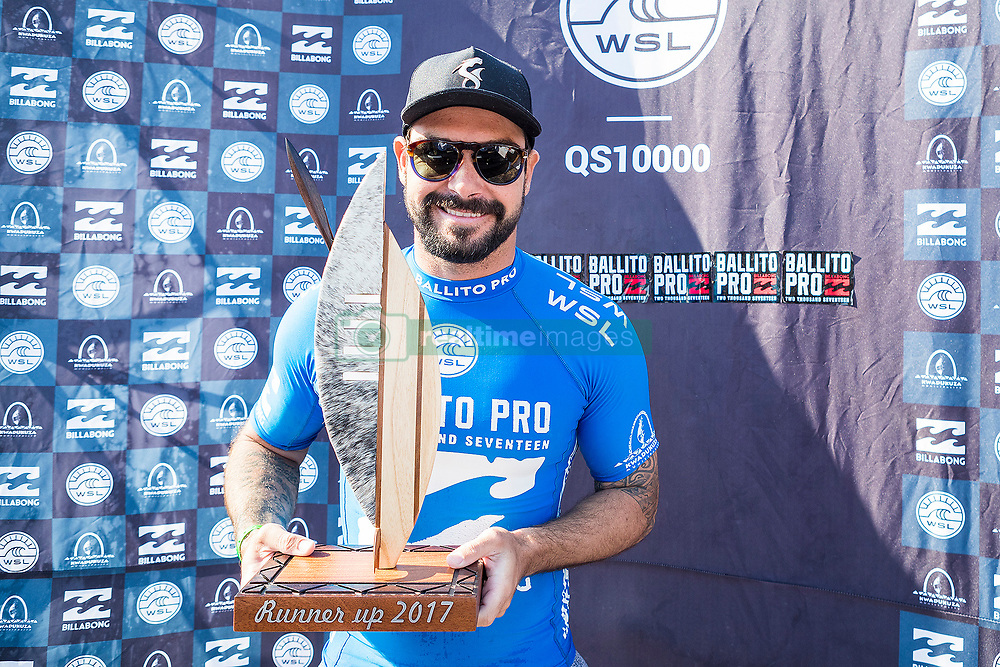 Jul 7, 2017 - KwaDukuza, South Africa - Willian Cardoso of Brazil placed runner-up in the final of The Ballito Pro presented by Billabong at Willard Beach, Ballito, South Africa. (Credit Image: © Kelly Cestari via ZUMA Wire)