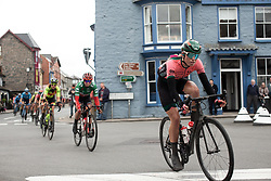 Demi Vollering (NED) of Parkhotel Valkenburg Cycling Team rides through Rhayader on Stage 5 of 2019 OVO Women's Tour, a 140 km road race from Llandrindod Wells to Builth Wells, United Kingdom on June 14, 2019. Photo by Balint Hamvas/velofocus.com