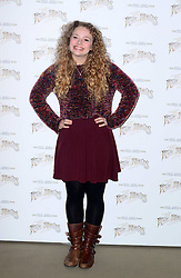 Carrie Hope Fletcher attends launch of Musical Version of The War of the Worlds, London, United Kingdom. Friday, 28th February 2014. Picture by Nils Jorgensen / i-Images