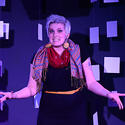 Ellyn Touchette performs at TEDx Piscataqua, May 6, 2015 at 3S Artspace in Portsmouth NH
