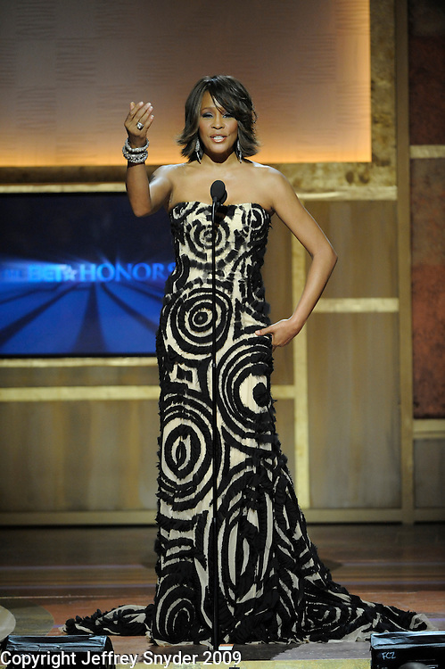 Whitney Houston at the 2nd Annual BET Honors