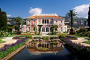 France, Provence, St.Jean Cap Ferrat, Villa Ephrussi de Rothschild