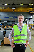 Marian Stulak who is a Operations Manager at the Foxconn branch in Pardubice, Czech Republic. Foxconn Technology Group, is a multinational electronics contract manufacturing company headquartered in New Taipei, Taiwan. Foxconn is the world's largest electronics contractor manufacturer, and the third-largest information technology company by revenue.
