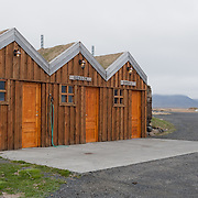 Petrol station at Modradalur, Iceland